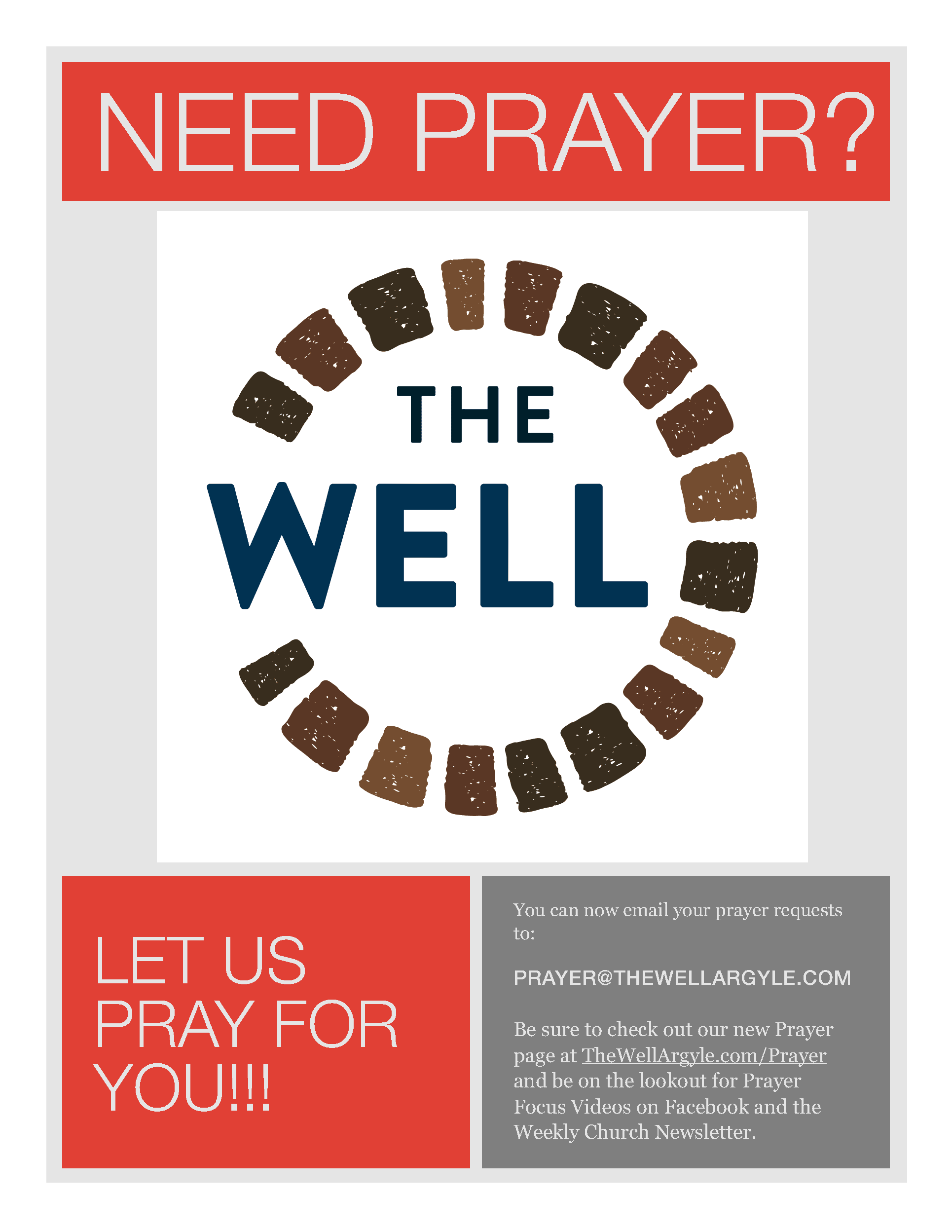 Prayer - The Well Church